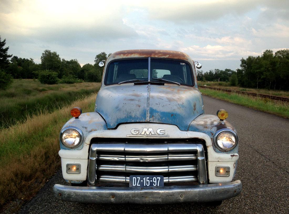 Rodcitygarage 1948 Gmc Panel Van Truck 1961 Chevy