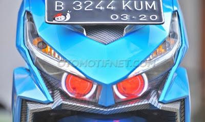 Modifikasi Honda Vario 150 eSP 2015 Turing
