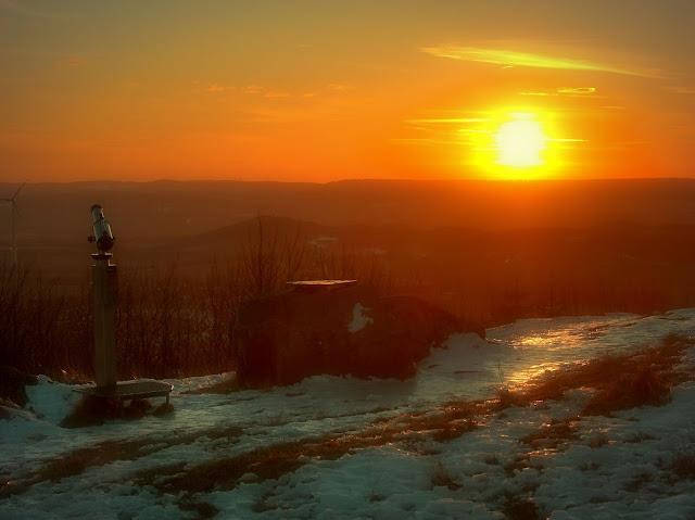Winter auf dem Köterberg