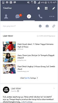 aplikasi line free call messenger