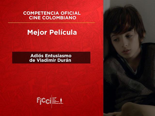 Mejor película competencia cine colombiano
