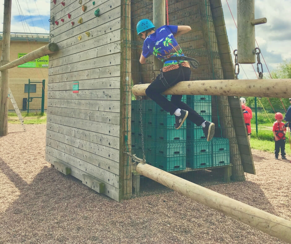 How To Improve Your Kid's Self Esteem | Climbing - one of the choices BP made.