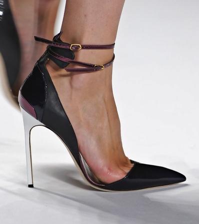Black Kitten Heel Jimmy Choo Shoes
