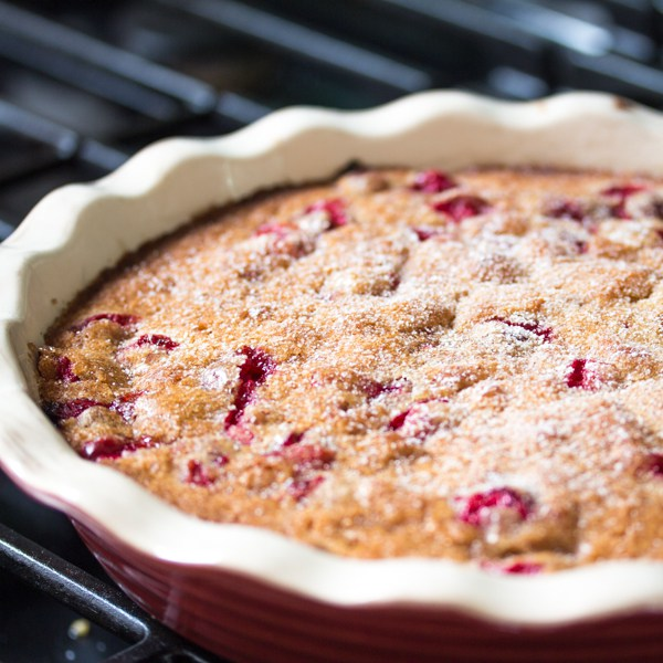 Most Popular Recipe of the Week | Cranberry Cake (Tart) from The Wimpy Vegetarian #recipe #SecretRecipeClub #cranberry #dessert #cake