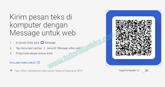 Cara mengirim teks dari komputer Anda Menggunakan Massage Android