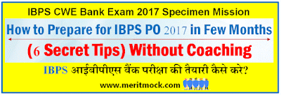 Prepare for IBPS PO 2017 6 Secret Tips