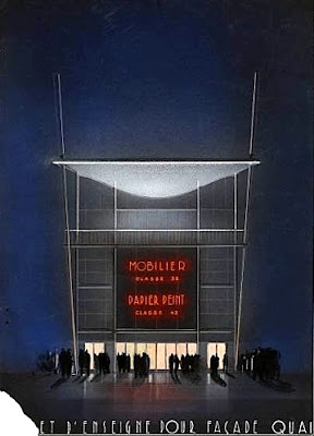 Pavillon du Mobilier et du Papier Peint 1937