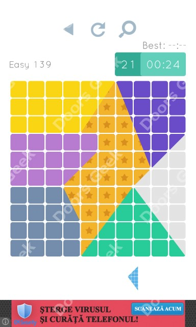 Cheats, Walkthrough for Blocks and Shapes Level 139
