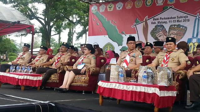 Kemah Nasional Kesehatan III di Malang