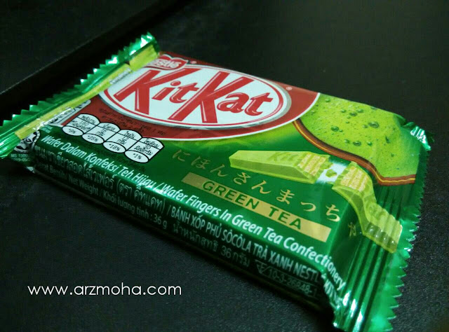 KitKat Green Tea, Kit Kat Green Tea, jangan makan KitKat Green Tea,