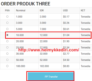 Cara membeli pulsa online lewat paypal3