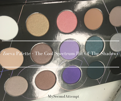 Zoeva Palette - The Cool Spectrum Hit Of The Shadows