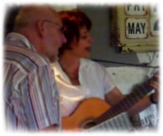 Live-Musik in der Café-Diele