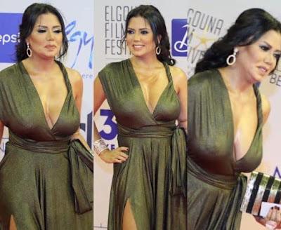 فستان رانيا يوسف, رانيا يوسف تثير الجدل, مهرجان الجونة السينمائى, رانيا يوسف,