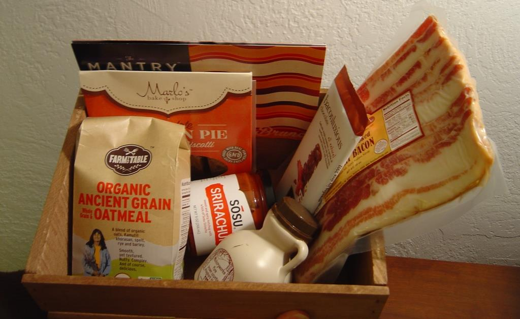Mantry Subscription Box for January 2016 in crate.