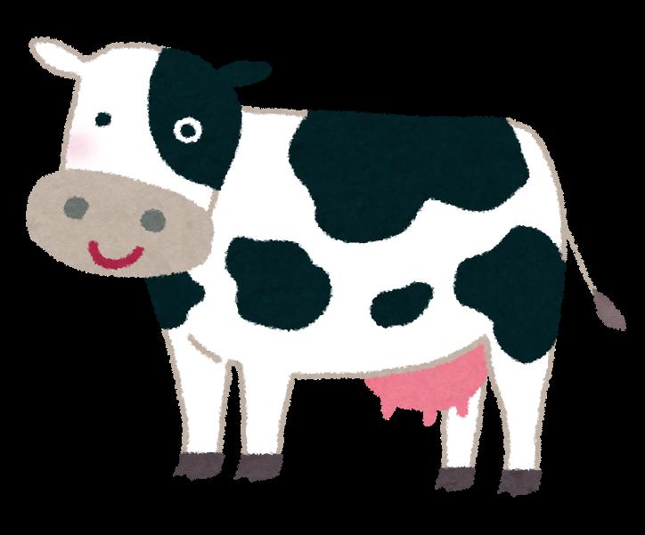 乳牛のイラスト かわいいフリー素材集 いらすとや