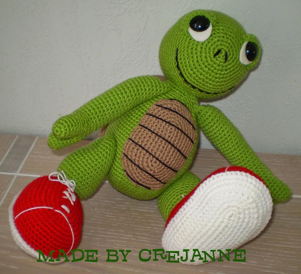 Crejanne Gehaakte Otto De Schildpad