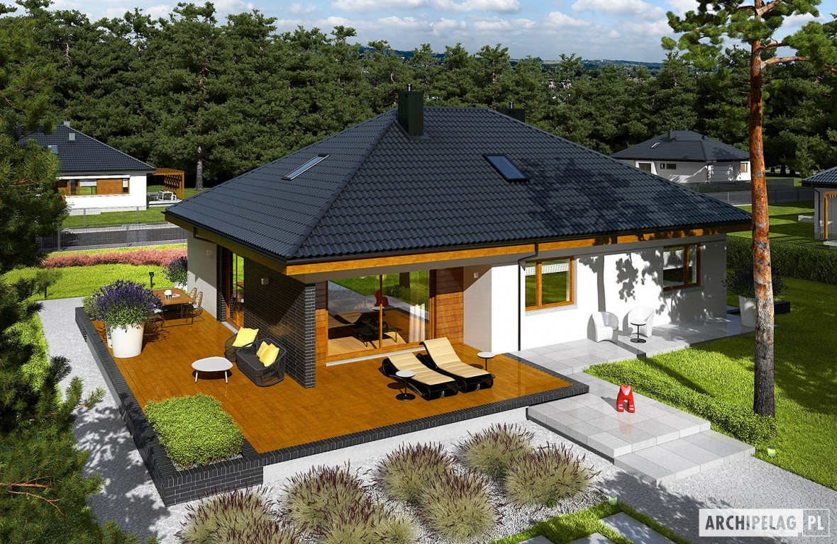 15 admirable single storey home blueprints and floor plans for Single house design