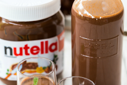 Homemade Nutella liqueur recipe