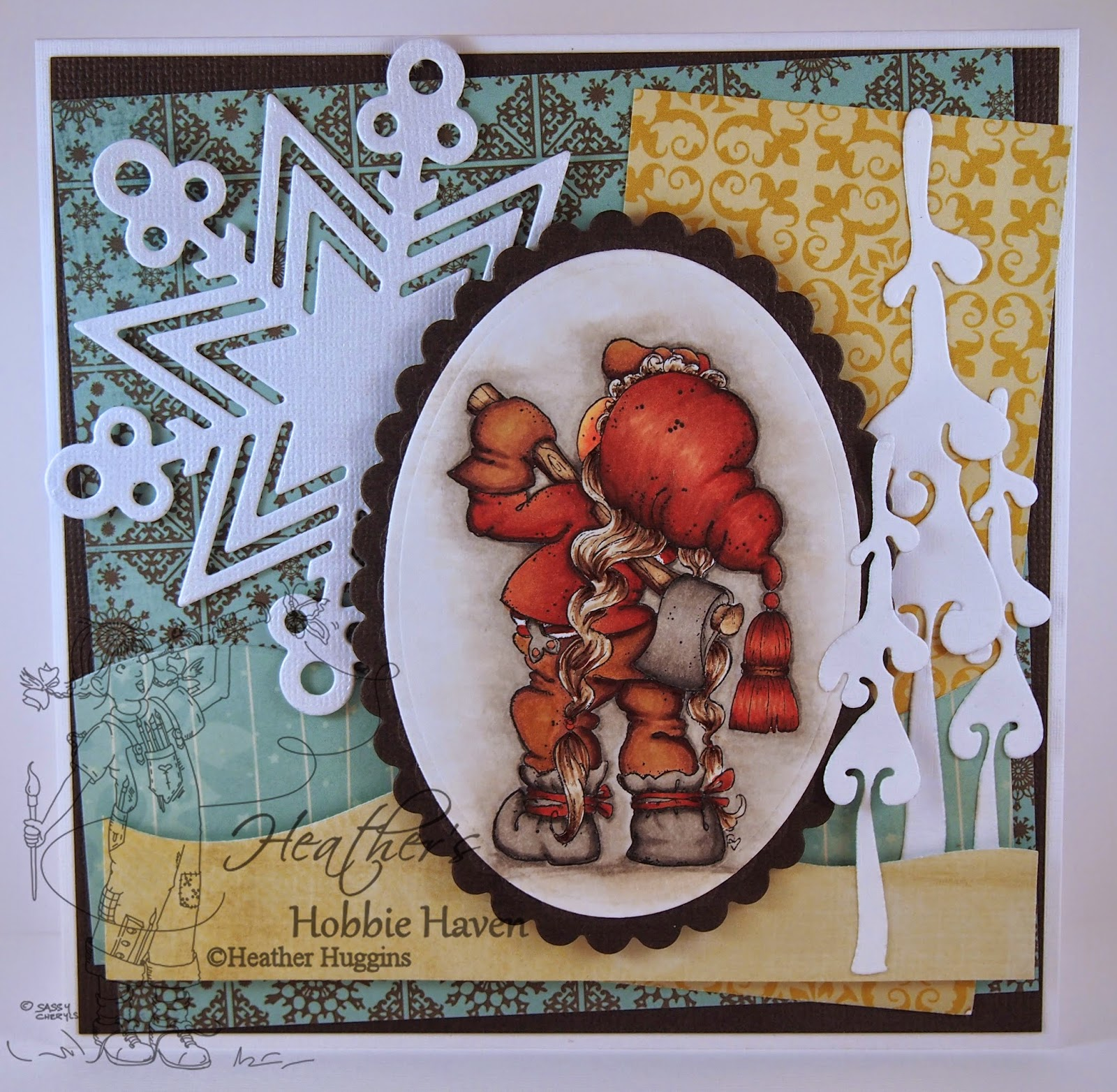 Heather's Hobbie Haven - Tilda in the Forest Card Kit