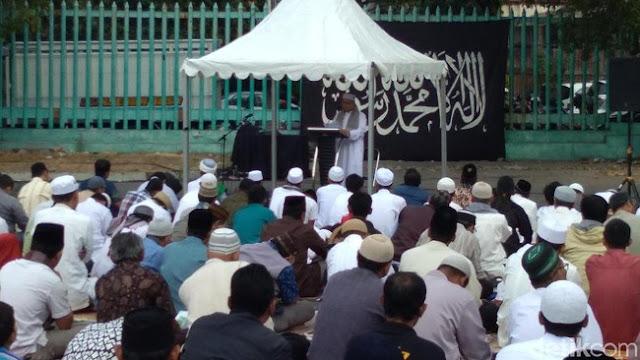 Ada Penampakan Ar-Rayah di Areal Salat Idul Adha di Yogya