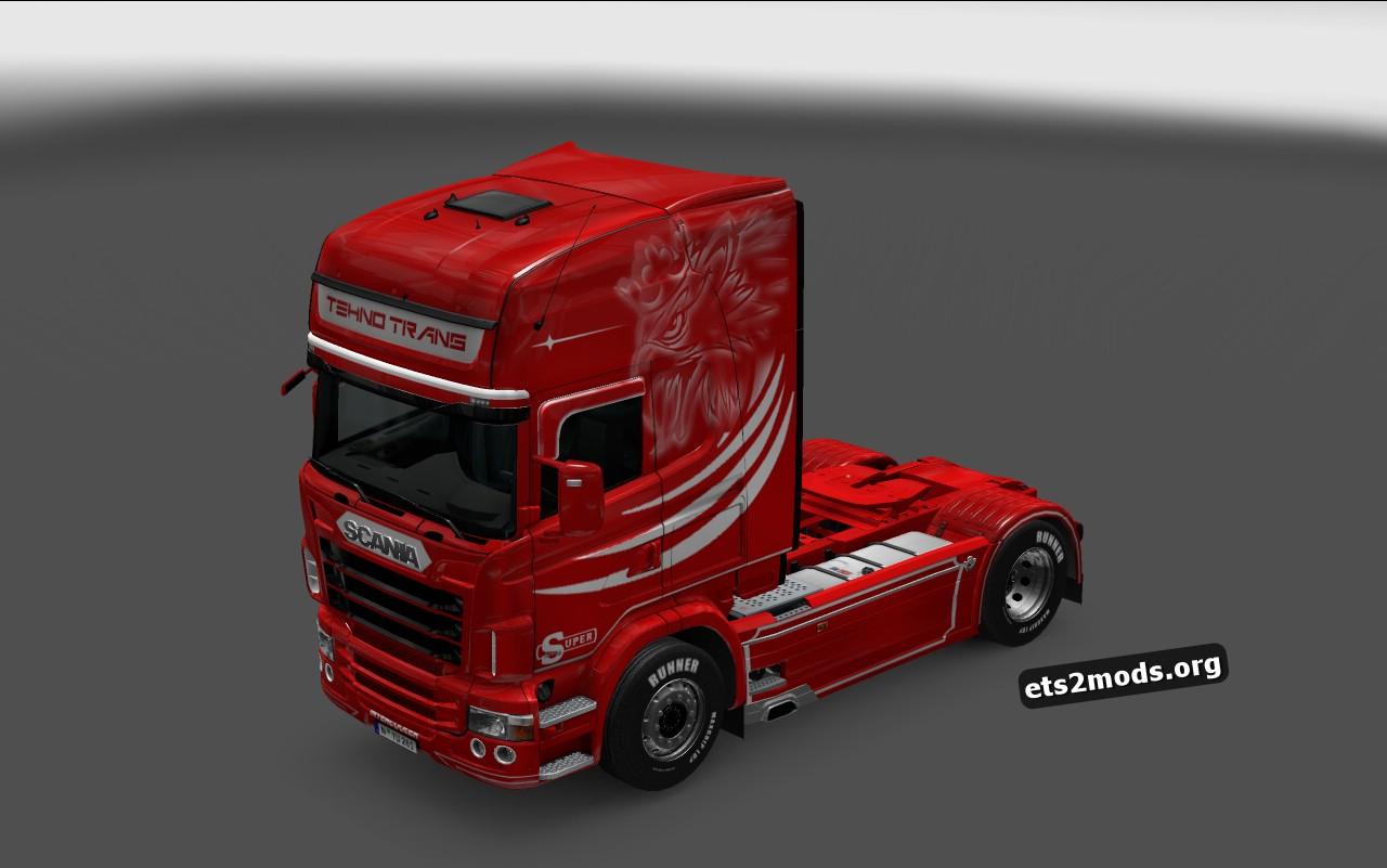 Scania RJL Tehno Trans Skin