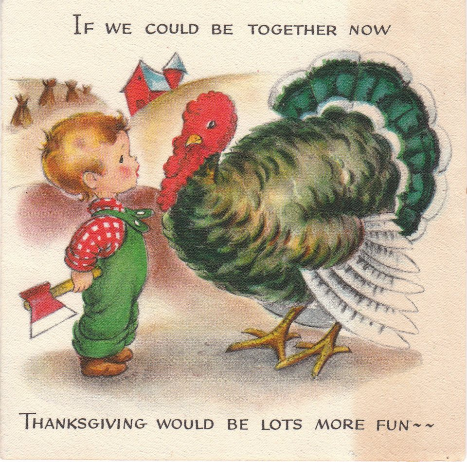 The Estate Sale Chronicles: The Vintage Thanksgiving Cards