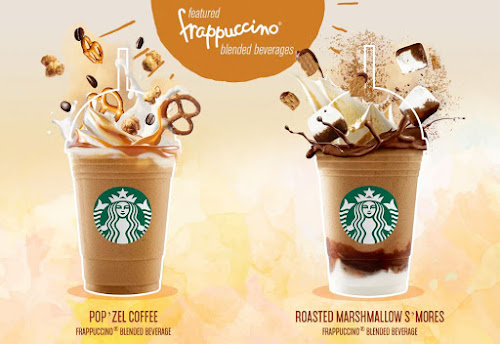 Pop'zel Coffee and Roasted Marshmallow S'mores Frappuccino