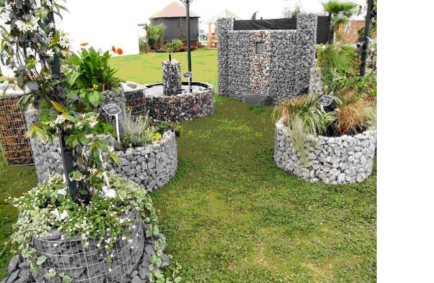 Mil Lecomte Julien : Créer un massif jardin surélevé et rond ...