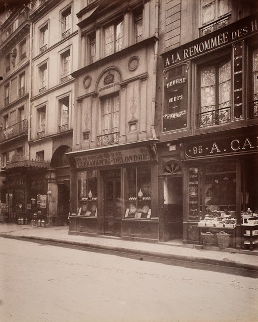 Fotografías antiguas de París - Eugène Atget