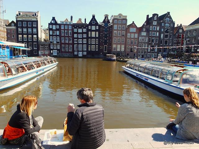 Båttur i Amsterdam