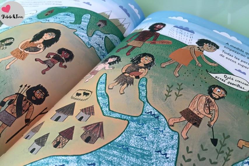 SM-evolución-homínicos-libro-infantil-desde-entonces-hasta-ahora