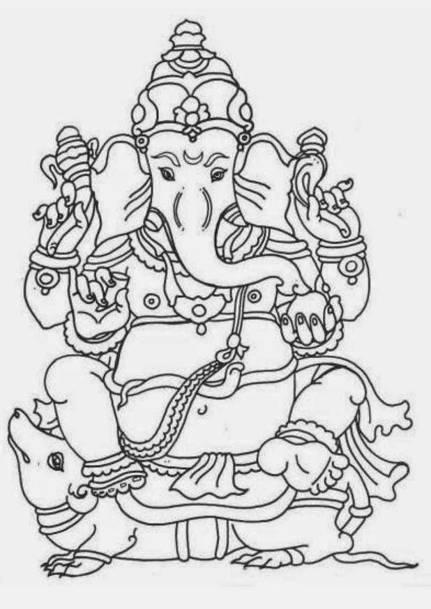Navishta Sketch: Shri Ganesh Sketch