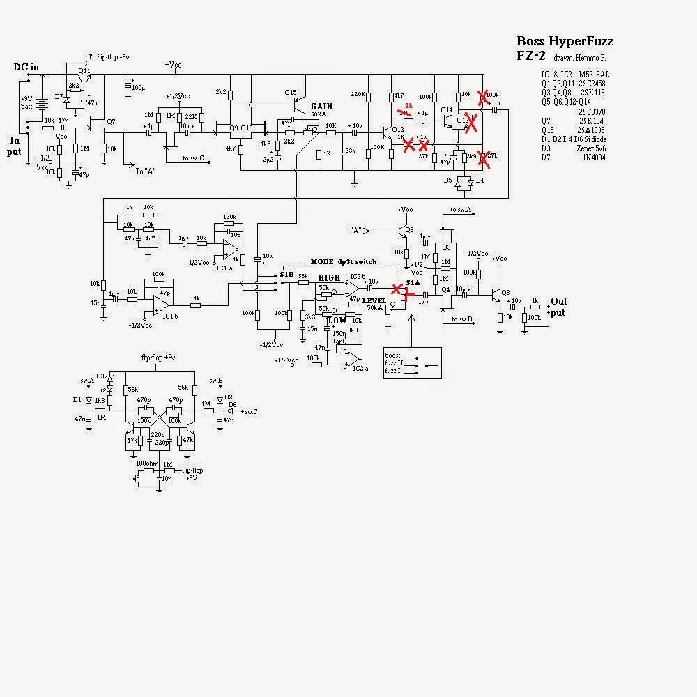 Diy Plexi Pedal Schematics And Layout DIY Reverb Pedal