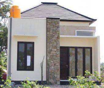 model atap perisai rumah type 36