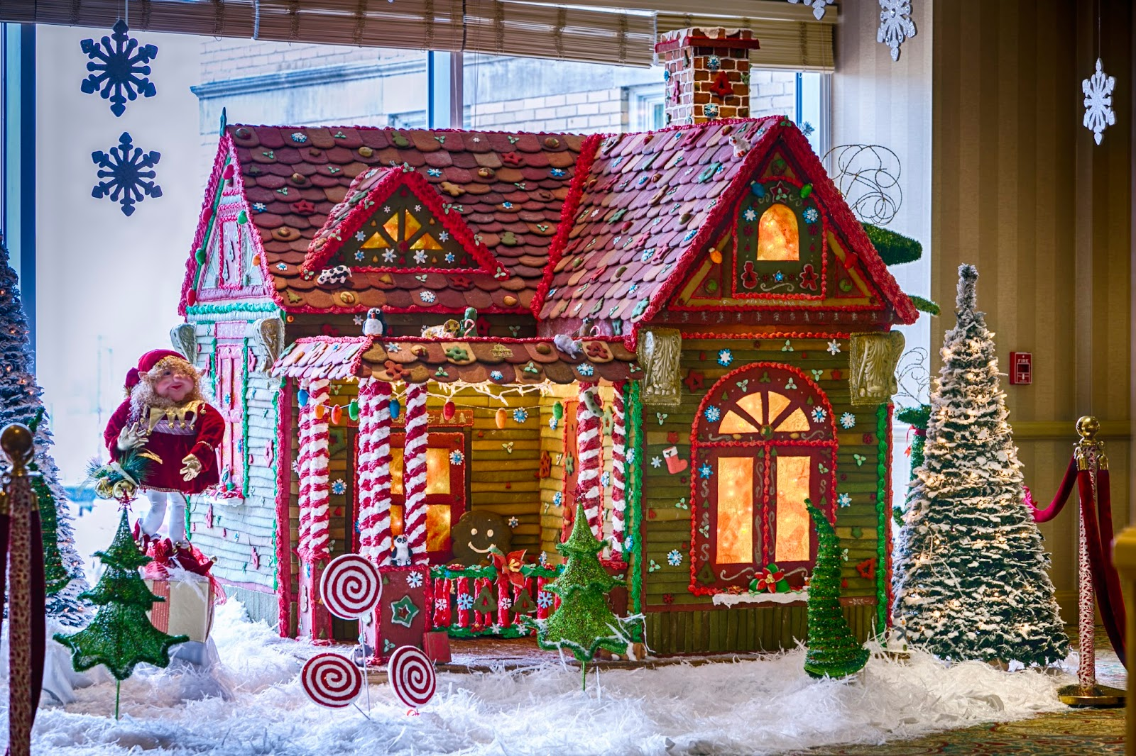 the gingerbread house  constructing a holiday tradition