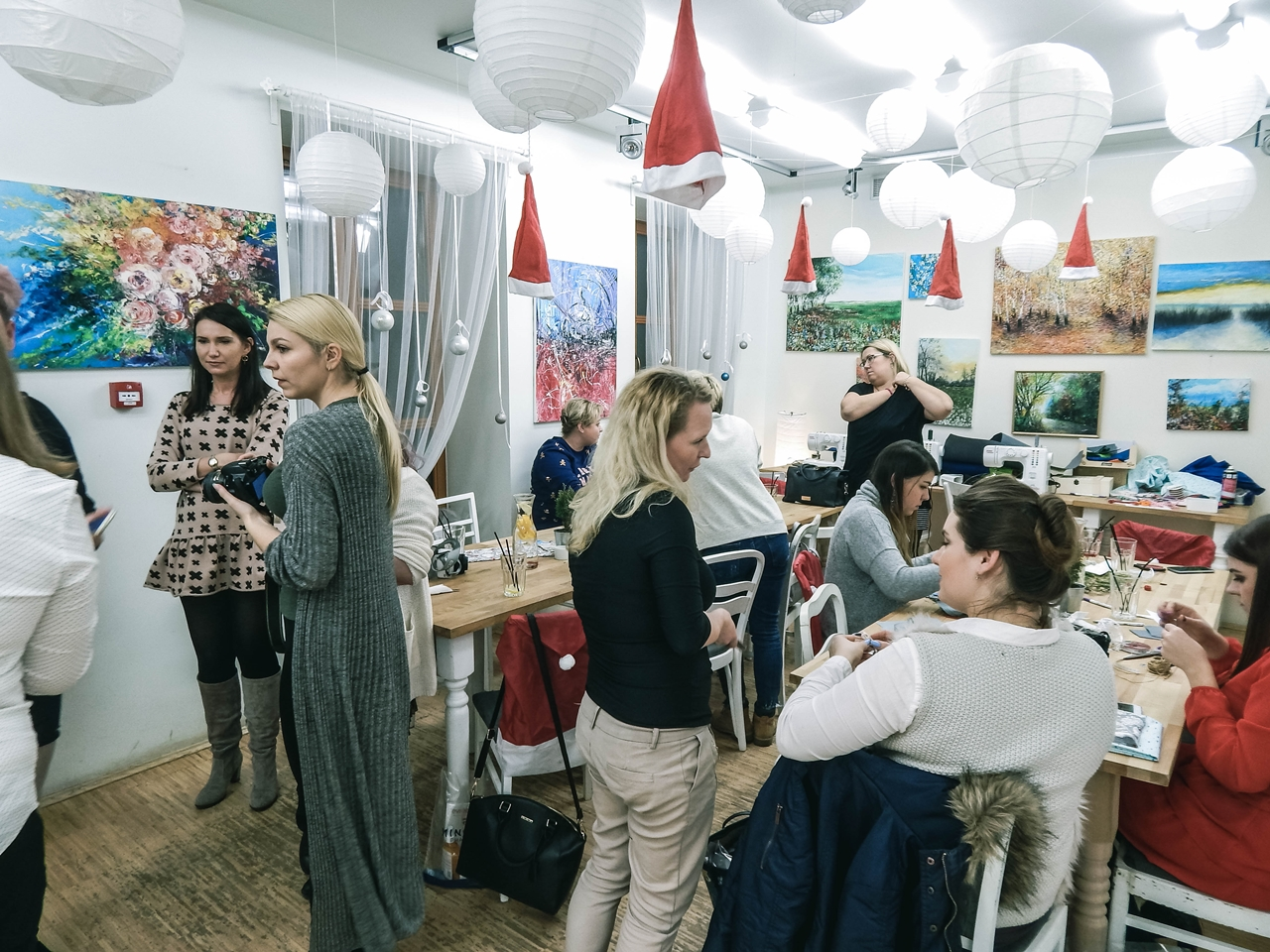 13 spotkanie blogerek mikołajki łódź 2017 akademia urody melodylaniella łódź blog beauty lifestyle fashion moda kulinaria instagram łódź influencer