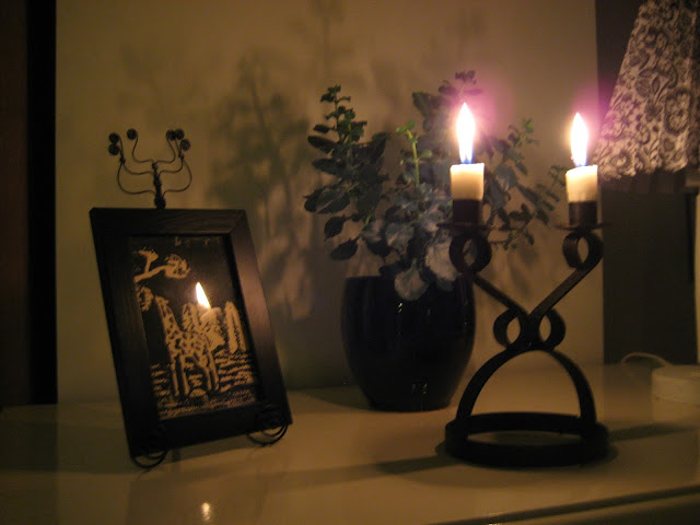 itsenäisyyspäivä, kynttilät