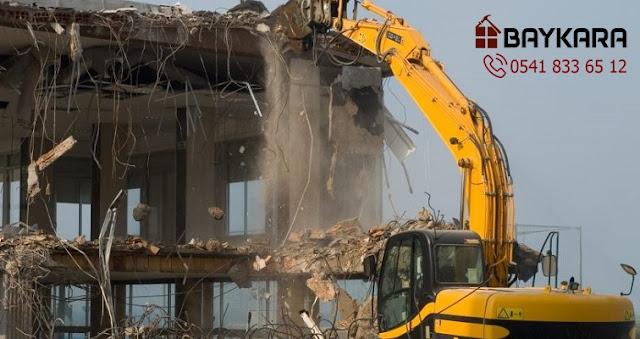 Bayrampaşa bina yıkım işleri, bina yıkım firması, Bayrampaşa yıkımcı