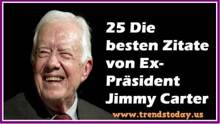 25 Zitate von Jimmy Carter