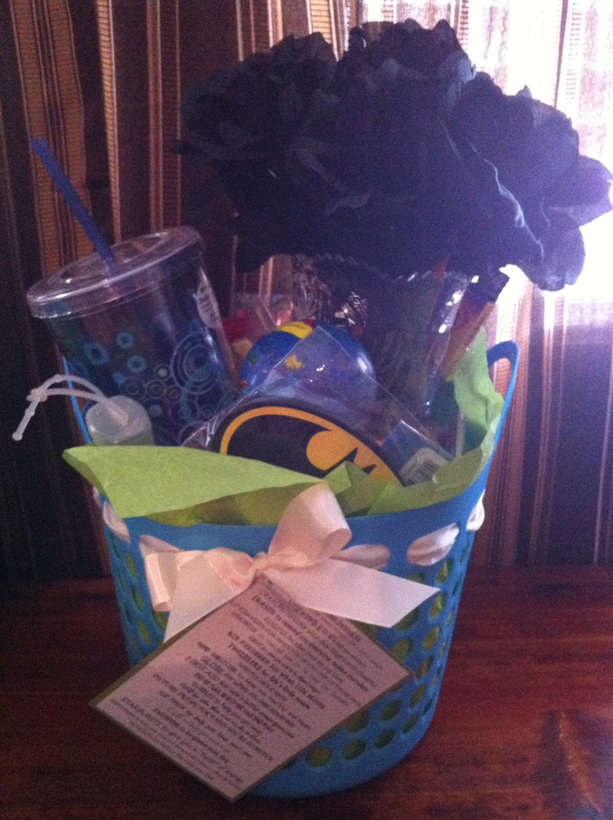 simply inspired handmade crafts college survival gift basket