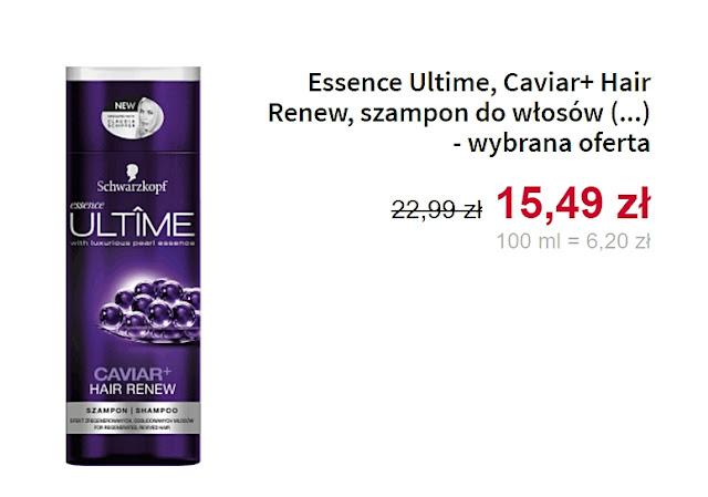 Essence Ultime, szampon do włosów
