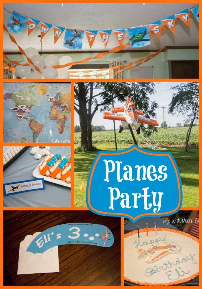 Planes Birthday Party
