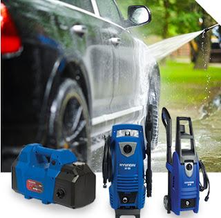 máy xịt rửa cao áp, máy xịt rửa áp lực cao, máy xịt rửa xe, máy xịt rửa Hyundai AH 100, Ah 130