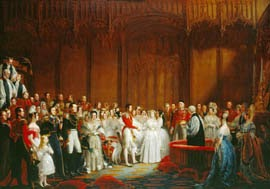 Boda de Victoria con Alberto de Sajonia