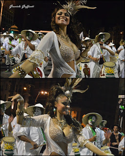Desfile Inaugural del Carnaval. Uruguay. 2017 Comparsa Nigeria