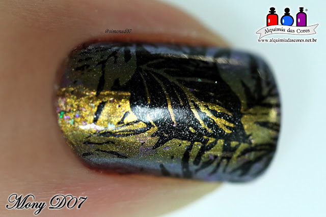 168 Metallic Black, Alquimia das Cores, Bow Nail Polish, carimbada, Dance Legend, dourado, kleancolor, MB 054, Mony D07, multichrome, Out of Space Collection, Preto, Quasar, Sugar Bubbles, verde