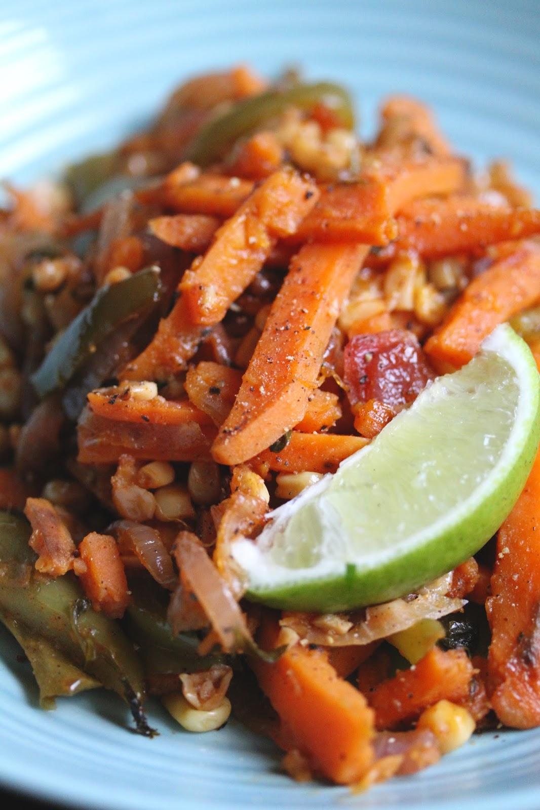 Smith 39 s vegan kitchen southwestern sweet potato noodles for Kitchen ideas w2 5sh