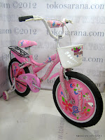 2 Sepeda Anak Kasea Waikiki 18 Inci