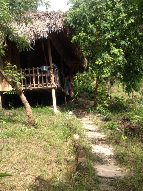 bungalow on Koh Rong Island, Cambodia